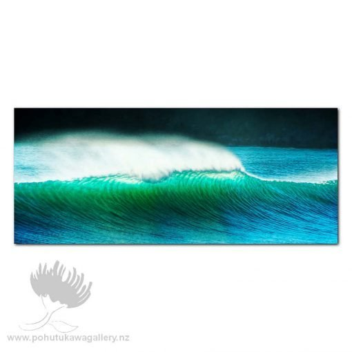 Kirk O'Donoghue canvas Print – Mount Mainbeach Wave