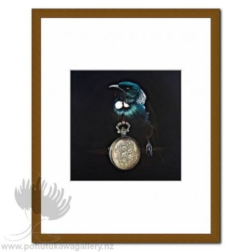 Pandora's Locket Tui by Jane Crisp - Art Prints New Zealand