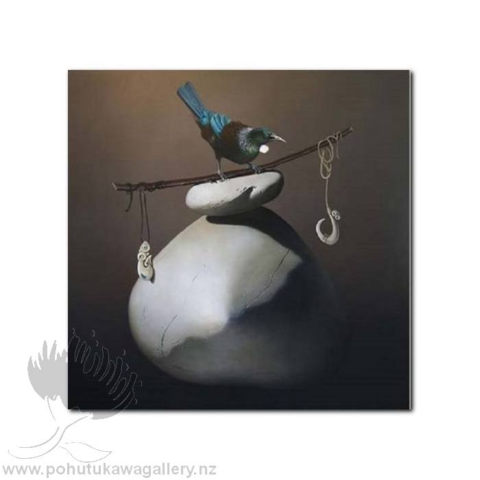 Treasure Hunt - Tui's Taonga by Jane Crisp - Art Prints New Zealand