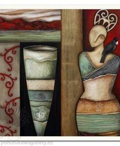 Stay BOX FRAMED by Kathryn Furniss - Framed New Zealand NZ
