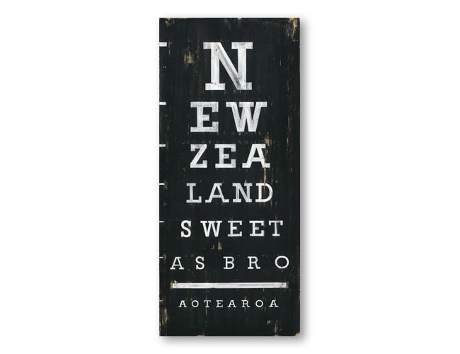 picture about Eye Chart Printable identified as Jason Kelly Print - Fresh Zealand Eye Chart