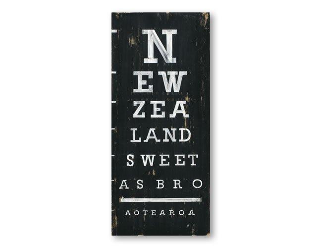 picture about Eye Chart Printable identified as Jason Kelly Print - Fresh Zealand Eye Chart