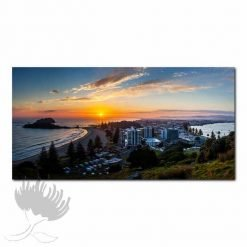 Kirk O'Donoghue Canvas Print - View From Mount , Mt Maunganui, NZ, New Zealand