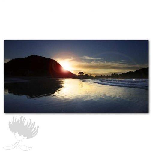 Kirk O'Donoghue Print - Blue Mount, Mt Maunganui, NZ Photo Art, New Zealand,