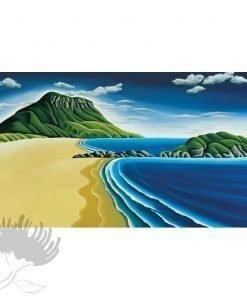 Diana Adams - Mount Maunganui | Box Frame Print
