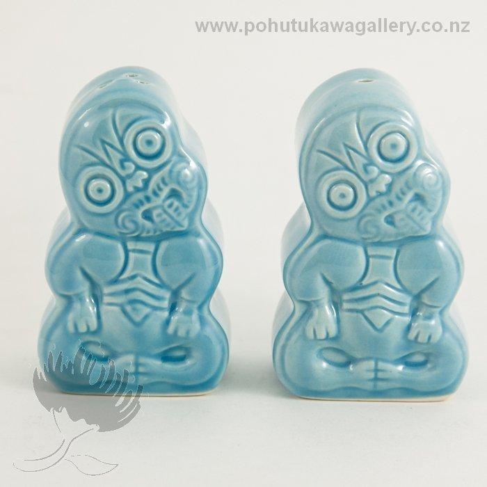 Salt And Pepper Shakers Funky Tiki Pohutukawa Gallery