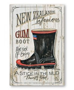 Jason Kelly Thanks Fred Gumboot NZ