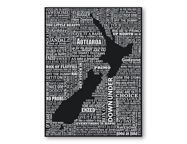 New Zealand Image print