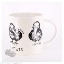 Caffeinated Kiwi coffee cup New Zealand Gifts NZ