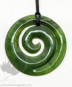 Greenstone pendants pohutukawa gallery new zealand greenstone pendant koru mozeypictures Choice Image