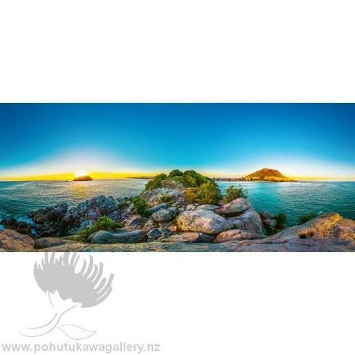 Kirk O'Donoghue Canvas Print - Leisure 360 Mt Maunganui Mount New Zealand NZ