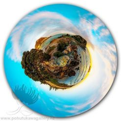 Kirk O'Donoghue Circle Print - The Mount - Mt Maunganui NZ New Zealand 360