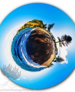 Kirk O'Donoghue Circle Print - Pilot Bay - Mt Mount Maunganui NZ New Zealand 360