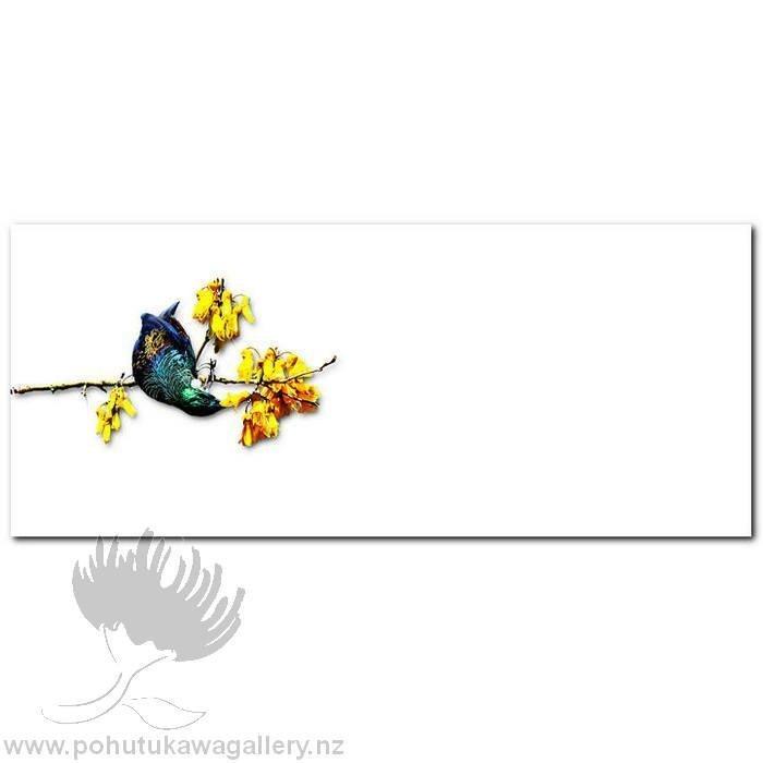 Kirk O'Donoghue canvas print Tui Flax NZ Birds New Zealand
