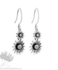 2E61007 Daisy Drops (Kindness) Earrings Evolve New Zealand