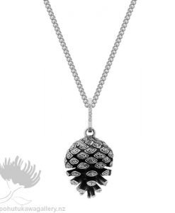 Pinecone Pendant (Independence and Intuition) Pendant Evolve New Zealand Jewellery