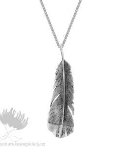 2P61004L Huia Pendant Statement (Admired) Evolve New Zealand Jewellery