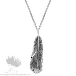 2P61004S Huia Pendant Small (Admired) Evolve New Zealand Jewellery