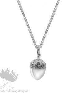 Acorn Pendant Evolve New Zealand Jewellery