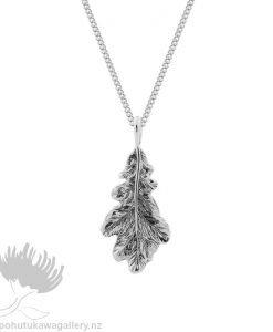 Oak Leaf Pendant Evolve New Zealand Jewellery
