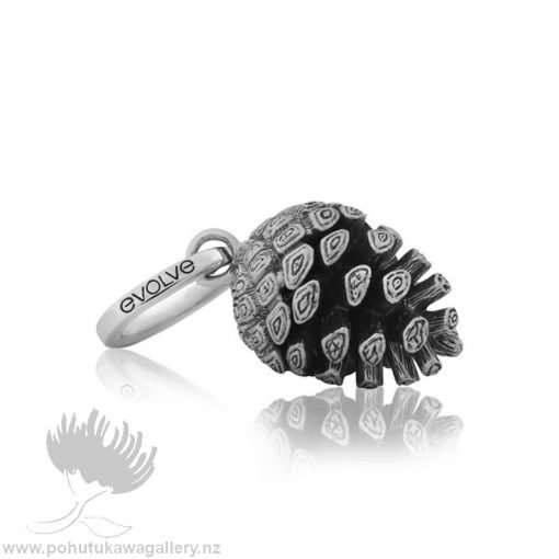 NZ Pinecone (Independence & Intuition) Charm Evolve New Zealand Jewellery