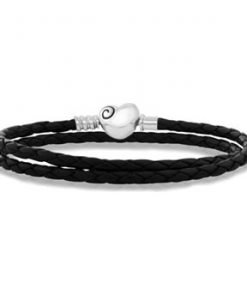 evolve new zealand leather charm bracelet