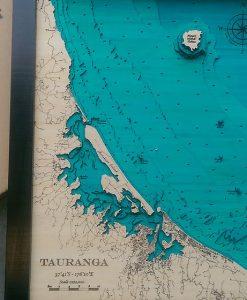 Aran Pudney The Furnace Hydrographic Chart Tauranga