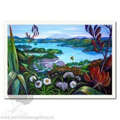 Mahurangi River by Irina Velman - Art Prints New Zealand