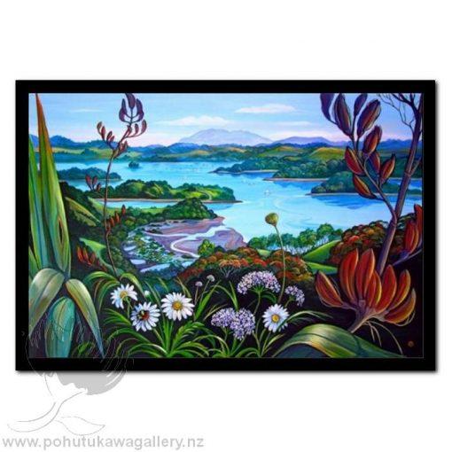 Mahurangi River by Irina Velman - Art Prints New Zealand