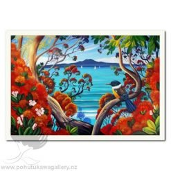 Rangitoto Island View 1 by Irina Velman - Art Prints New Zealand