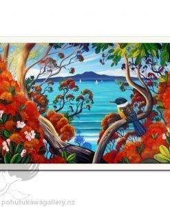 Rangitoto Island View 1 by Irina Velman - Art Prints New Zealand