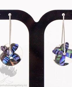 New Zealand Jewellery Paua Earrings