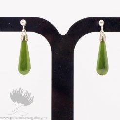 New Zealand Jewellery Greesnstone Earrings