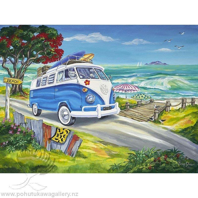Caren Glazer New Zealand Print