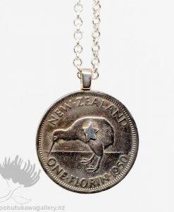 New Zealand Coin Jewellery Pendnt