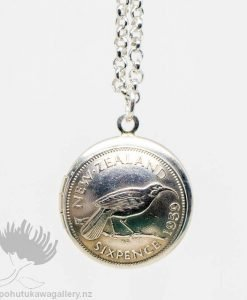 New Zealand Coin Jewellery Pendant