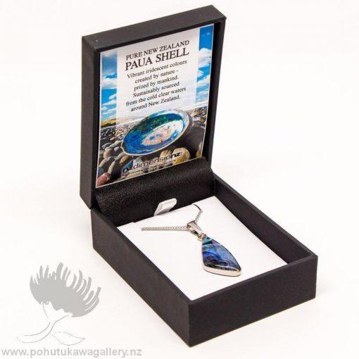 New Zealand Made Paua Pendant