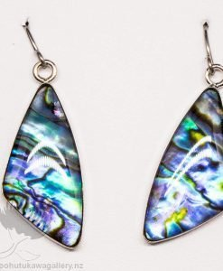 New Zealand Made Paua Earrings