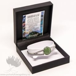 New Zealand Made Greenstone Bangle