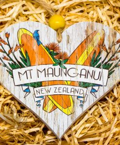 New Zealand Made Heart Mt Maunganui