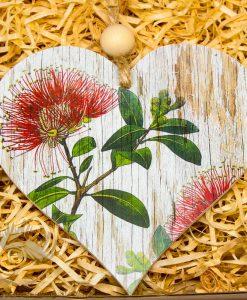 New Zealand Made Heart Pohutukawa