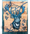 Outdoor Panel Art Stag NZ