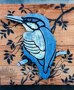Outdoor Panel Art Kingfisher NZ