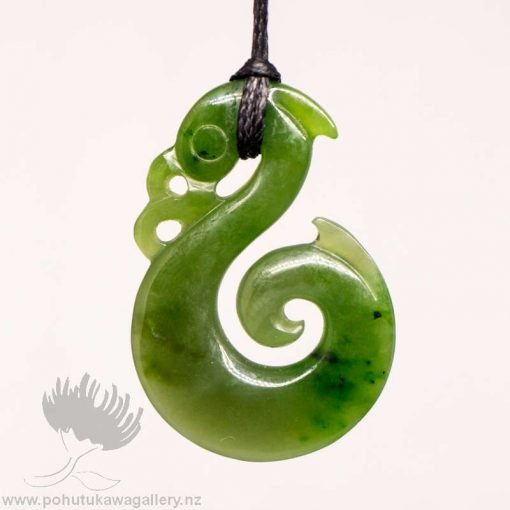 New Zealand Greenstone Manaia Pendant