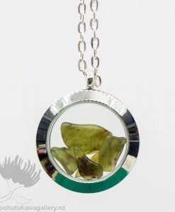 NZ Greenstone Floating Locket