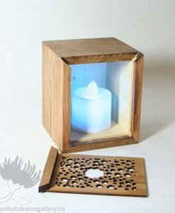 New Zealand Tea Light Trinket Box