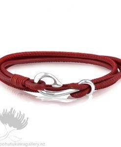 LKBWRS19 Pohutukawa Safe Travel Wrap Bracelet Evolve