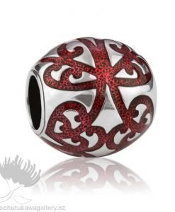 LKE036 My Family Tree (Ancestry) Red Evolve NZ Charm