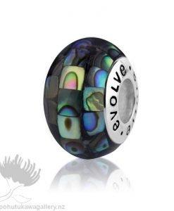 LKP006 Paua Mosaic Evolve NZ Charm