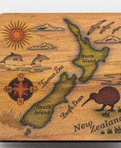 New Zealand Rimu Coaster